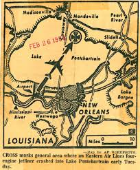 New Orleans Airport Map by 50 Years After Eastern Air Lines Flight 304 Crashed Into Lake