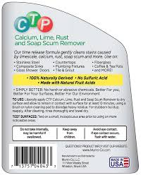 Clean Soap Scum From Shower Door by Amazon Com Ctp Calcium Lime Rust And Soap Scum Remover Health