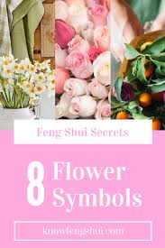 secrets of 8 feng shui flower symbols feng shui symbols and
