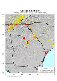 Us Geological Earthquake Map Earthquakes Augusta Ga Official Website