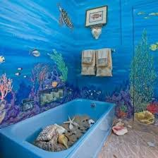 refreshing beach bathroom dcor ideas decozilla clear bathroom