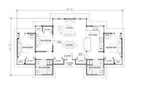 3 bedroom house blueprints one story 3 bedroom modern house plans nrtradiant com