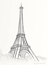 eiffel tower quick sketch towers tower and sketches