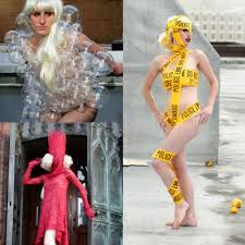 halloween costumes make your own instructables diy lady gaga