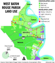Map Of Baton Rouge West Baton Rouge Finds Commercial Development Elusive Wetlands