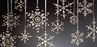 snowflake glass ornaments rh