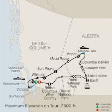 Whistler Canada Map by Canada