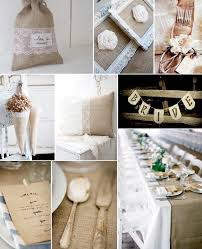burlap decorations for wedding burlap and lace wedding ideas weddings by lilly