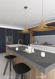 minosa striking kitchen design with rich wood u0026 copper
