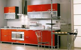 modern kitchen ideas kitchen chic colorful kitchen ideas with colorful wall and