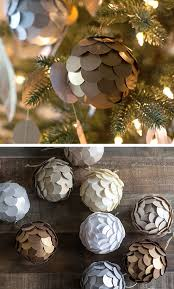 29 diy christmas decor ideas for the home paper balls diy