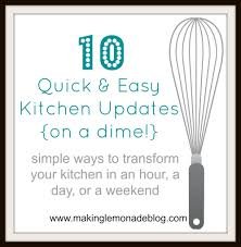 kitchen updates ideas 10 ideas for remodeling your kitchen on a budget making lemonade