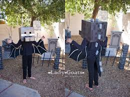 Minecraft Enderman Halloween Costume Lady Goats Enderdragon Costume