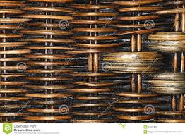 wicker basket old wood texture woven with dust stock photo