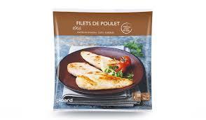 cuisine filet de poulet filets de poulet rôtis surgelés les viandes volailles picard