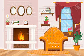 livingroom cartoon interior clipart living room pencil and in color interior