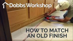 How To Match Laminate Flooring How To Match A Yellowed Lacquer Finish Youtube