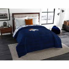 Comforter At Walmart Nfl Denver Broncos Twin Full Bedding Comforter Walmart Com