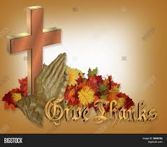 thanksgiving praying cross image photo bigstock