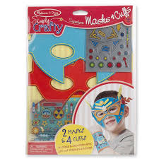 kids crafts decorate your own superhero mask and cuff set radar