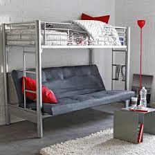 lit mezzanine canapé lit mezzanine avec banquette futon matelas futon canapé literie