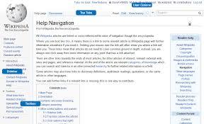 help navigation