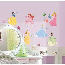 Princess Wall Mural by Disney Princess Removable Decals Potty Training Concepts