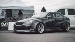 widebody lexus is250 clinched widebody kit lexus is250 is350 2005 2013 import image