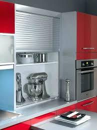 meuble cuisine volet roulant volet roulant pour meuble de cuisine leroy merlin volet roulant