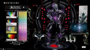 warframe volt prime color schemes