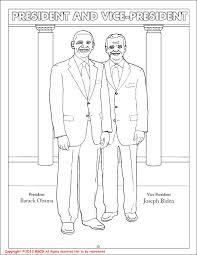 coloring books president barack obama vice president joe biden
