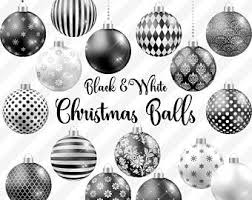 Black And White Christmas Decorations Clipart by Chalkboard Christmas Ornaments Clipart Ornaments Chalkboard