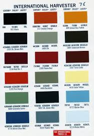 chart dupont nason paint color chart