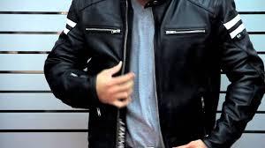 classic leather motorcycle jackets joe rocket men u0027s classic u002792 leather jacket at leatherup com youtube