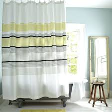 Yellow And White Shower Curtain Gray And Yellow Shower Curtains Cjphotography Me