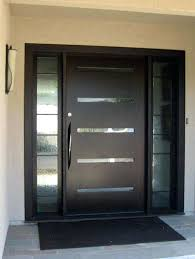 contemporary double door exterior front doors contemporary exterior door designs with walnut