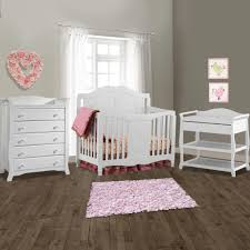 Convertible Crib Nursery Sets Image Storkcraft Nursery Set Princess Convertible Crib Aspen
