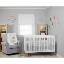 Blue Nursery Bedding Sets by Zutano Blue Juba 5 Piece Crib Set Walmart Com