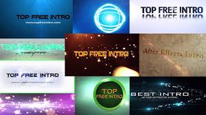 top 10 free intro templates 2015