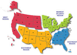 united states map with states on it united states map