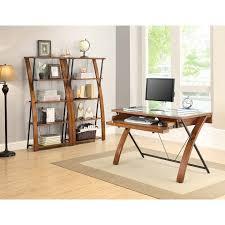 Office Depot Desks And Hutches Desks Realspace Magellan Corner Desk And Hutch Bundle Office