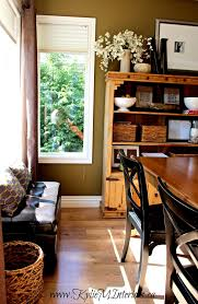 sherwin williams mossy gold u2013 rustic farmhouse dining room