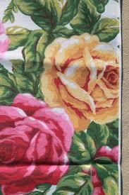 royal albert country roses china go along cloth fabric napkins
