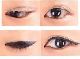 tutorial make up mata sipit ala korea beauty tips cara memakai eyeliner ala korea makeup mata