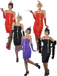 ladies 1920s flapper costume adults gatsby fancy dress womens