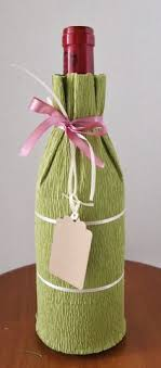 wine bottle gift wrap how to wrap a wine bottle this is so simple and pretty