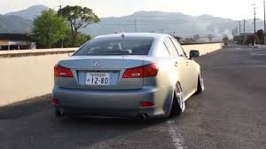 stanced lexus is250 slammed lexus is coilover youtube
