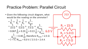 Parallel Circuit Problems Worksheet Parts Of An Electric Circuit Recall A Circuit Is A Closed Path