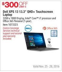 costco laptop deals black friday best costco wholesale black friday dell xps 13 13 3