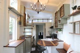 Tiny Home Movement by Tiny House Packs U0027farmhouse Chic U0027 Into 240 Square Feet Curbed